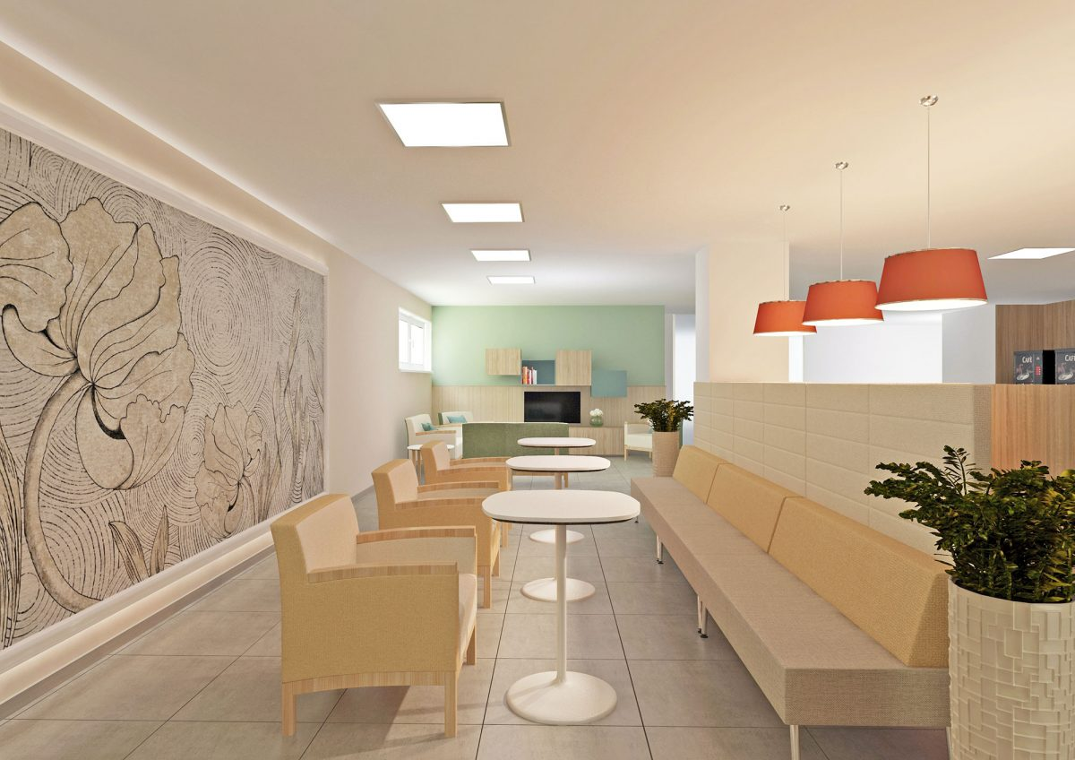 Adriano Community Center Milano, Residenza Sanitaria per Anziani e Residenza Temporanea